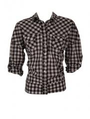 Ossira - Camisa Escocesa con Cintura