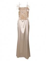 Delmira - Vestido Lux Plata