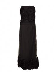 Delmira - Vestido Rosas Black