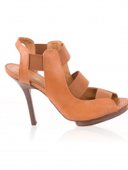 Delmira - Zapato Crocco Caramelo