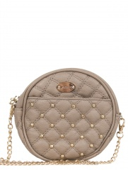 Lemon - CARTERA CHICA REDONDA CON TACHAS