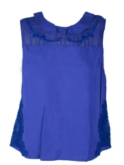 Lemon - BLUSA BORDADOS ALGOD�N