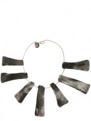 Don Baez - Collar De Fieltro Geom�trico